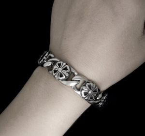 Silver Chain Bracelets Men Fashion Punk& Rock Stailess Steel Jewelry pictures & photos
