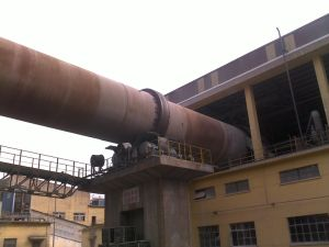 3.2*50m Dry Process Rotary Kiln USD in Clinker Plant pictures & photos
