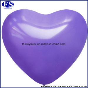 Printed Heart-Shaped Balloons Natural Latex pictures & photos