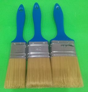 Petfilament and Plastic Handle Painting Brush pictures & photos