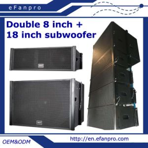 Double 8 Inch Professional Line Array Speaker pictures & photos