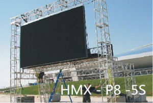 P8 Outdoor LED Display Screen with Die Casting Aluminum Cabinet for Advertising Panel pictures & photos