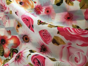 Thin Polyester Chiffon Fabric Printing Chiffon Fabric for Dress pictures & photos