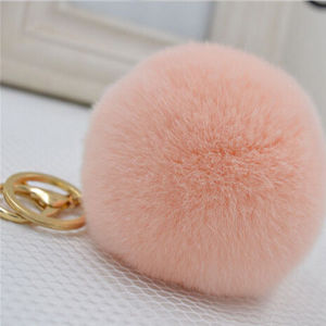 Fashion Cute and Lovely Real Rex Rabbit Fur Rabbit Keychain pictures & photos