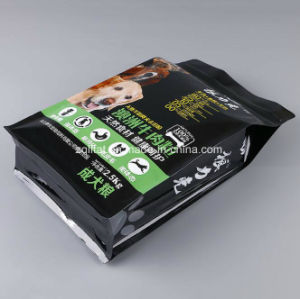 Custmized Plastic Quad Seal Packing Bag for Pet Feed /Cat Food/Dog Food pictures & photos