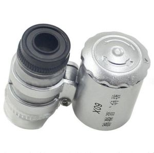 60X Magnifying Loupe Jewelers Pocket Magnifier pictures & photos