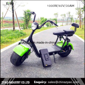 Mag Citycoco Scrooser 1 Years Warranty 2017 The Most Fashionable Citycoco 2 Wheel Adults Electric Scooter pictures & photos