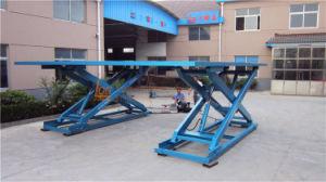 Customized Samll Stationary Hydraulic Scissor Lift Table (SJG0.3-0.5D) pictures & photos