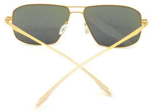 FM171281 New Style Best Quality Big Frame Mirror Nylon Lens Metal Sunglasses pictures & photos