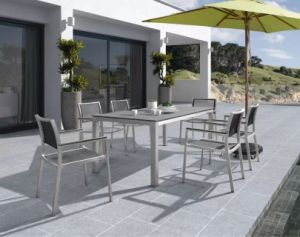 Textilene Fiber Outdoor Furniture Chair and Table Set pictures & photos