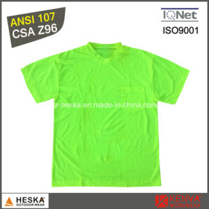 Wholesale Cheap Mens Classic Safety Wwork T Shirt pictures & photos