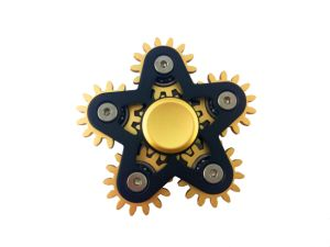 Six-Gear Linkage Metal Fidget Hand Spinner pictures & photos