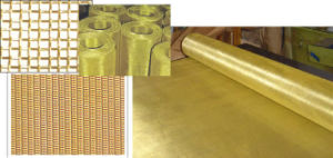 Brass Wire Mesh/Filter Screen From Anping Factory pictures & photos