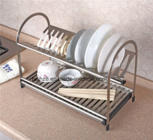 Kithen Accessories Dish Drying Rack Bowl Carrier for Housing (326b) pictures & photos