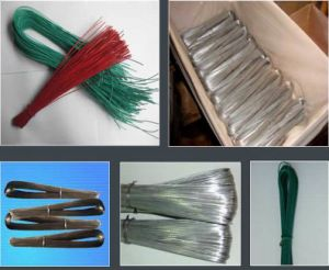 Galvanized & Black Anealed U Type Binding Wire/U Type Wire/Binding Wire pictures & photos