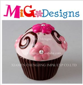 Wholesale Adorable Ceramic Cupcake Canister pictures & photos