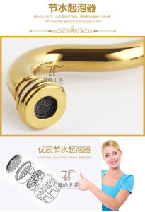 New Design Chinese Ceramic Basin Faucet (Zf-611) pictures & photos