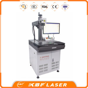 Best Brand Widely Use Fiber Laser Marking Machine on Metals ABS Pec PVC pictures & photos