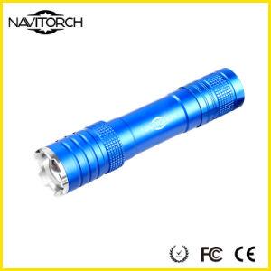 CREE Rechargeable Telescopic Zoom Aluminium LED Flashlight (NK-1862)