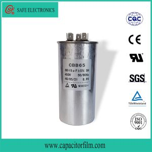 Cbb65 Motor Run and Start Polyester Film Capacitor pictures & photos