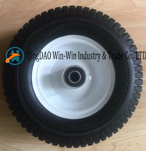 Environmental Protection PU Wheels Used on Machine pictures & photos