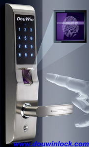 Waterproof Small Biometric Fingerprint Door Lock System pictures & photos