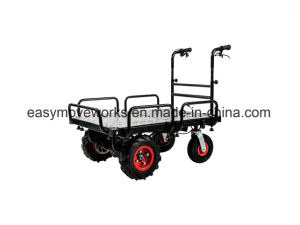 Pallet Platform Electric Drive Cart Electrical Barrow for Gardening Architecture Warehousing Agriculture pictures & photos