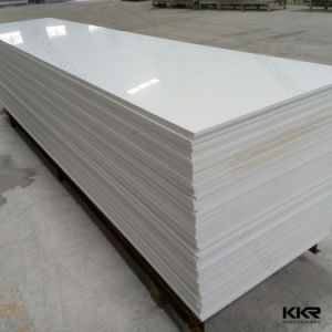 6mm White Color Acrylic Solid Surface for Bench 170106 pictures & photos