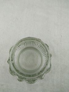 425ml Lotus Candle Glass Holder pictures & photos