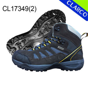 Rubber Sole Outdoor Hiking Safety Shoes for Men pictures & photos