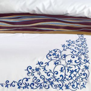 Soft Very Cheap 1000t Bedspread Sets for Resort pictures & photos