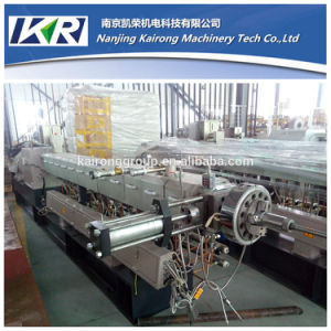 Tse-65 Small Plastic Masterbatch Compound Granulator Parallel Co-Rotating Twin Screw Extruder Price pictures & photos