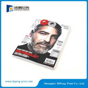 Pertfect Binding Magazine Printing with Cover Laminated pictures & photos