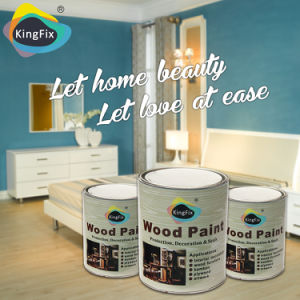 Kingfix Brand Universal High Gloss PU Wood Varnish pictures & photos