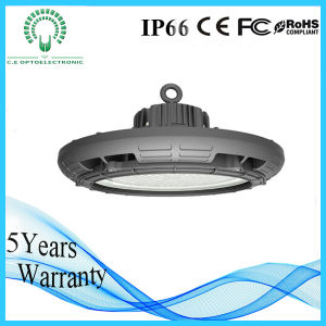Free Sample 130lm/W UFO Round LED High Bay Light for Industrial Warehouse Lighting with Ce, RoHS, TUV, SAA, UL Certificate pictures & photos