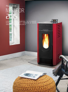 Freestanding Biomass Wood Burning Pellet Stove pictures & photos