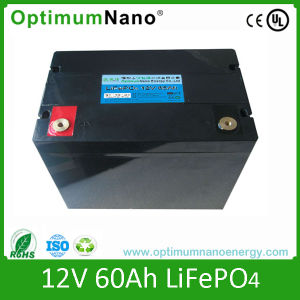 12V 60ah Lithium Iron Phosphate Battery Pack for Solar System pictures & photos