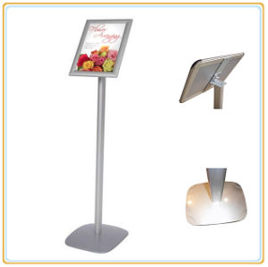 Supermarket Floor Sign Display Stand/A4 Poster Frame pictures & photos