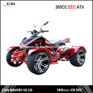 300cc EEC Quad Bike Racing ATV EEC Approval with 14inch Alloy Wheels pictures & photos