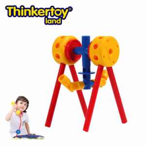 Thinkertoy Land Blocks Educational Toy Park Series Mini Park Swing (P6201)