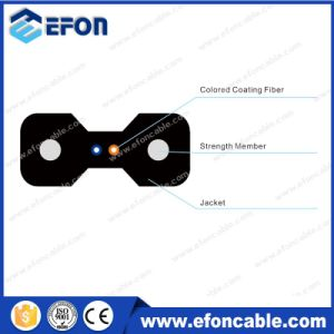 Outdoor Indoor FTTH 2core Multimode Fiber Optical Cable pictures & photos