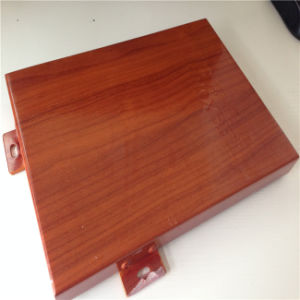 Wood -Like Aluminum Panel for Indoor Decoration pictures & photos