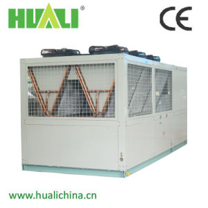 Double Screw Compressor Air Cooled Water Chiller / Air Source Heat Pump / Air to Water Chiller pictures & photos