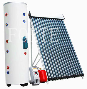 High Pressure Complete Heatpipe Solar Water Heating System 300L pictures & photos