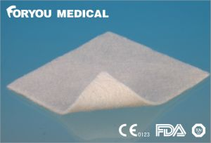 Foryou Medical China Alginate Supplier Diabetic Leg Wounds Good Price Chitosan Exudate Absorbent Calcium Alginate Wound Dressing pictures & photos