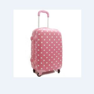 Pink Panle with White Dots Luggage Sets for Girls pictures & photos
