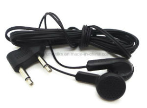 Disposable in-Ear Wired Communication Two Pins Aviation Earphone Lx-Al02 pictures & photos