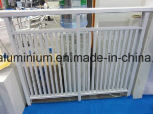 Aluminum Stairs, Glass Handrial and Glass Baluster, Staircase Railing pictures & photos