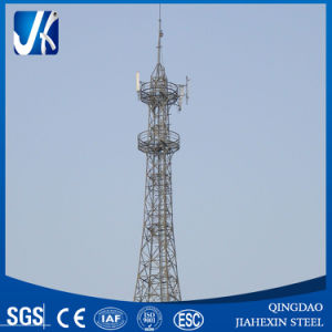 Telecommunication Steel Tower, Professional Manufacturer Lattice Tower Tubular Tower pictures & photos