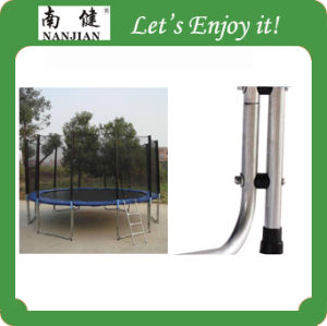 16ft Trampoline Wholesale, High Quality Gymnastic Combo Outdoor Fitness Trampoline with Enclosure and Ladder pictures & photos